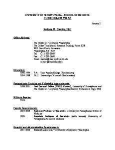 Rodney M. Camire, PhD