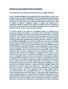 RODRIGO DE LUIS: HISTORIA IDIOTA DEL DERECHO