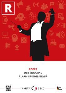 ROGER Der moderne Alarmierungsserver