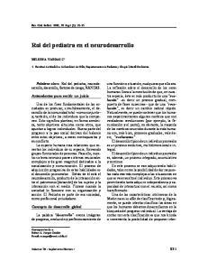 Rol del pediatra en el neurodesarrollo