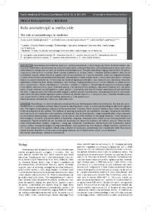 Rola aromaterapii w medycynie