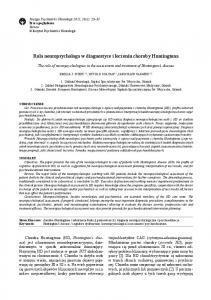 Rola neuropsychologa w diagnostyce i leczeniu choroby Huntingtona