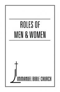 ROLES OF MEN & WOMEN