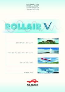 ROLLAIR 20V-30V-40V-50V-60V 75V-100V-125V-220V