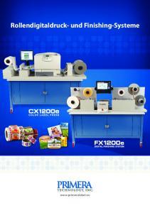 Rollendigitaldruck- und Finishing-Systeme