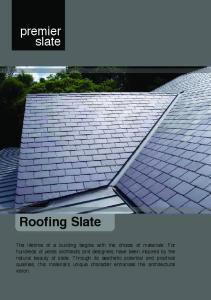 Roofing Slate. premier slate