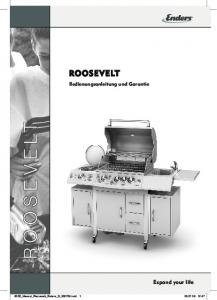 ROOSEVELT. Expand your life. Bedienungsanleitung und Garantie. 8035_Manual_Roosevelt_Enders_D_ indd :47
