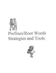 Root Words Strategies and Tools