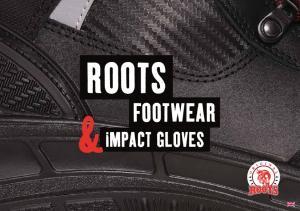ROOTS FOOTWEAR IMPACT GLOVES
