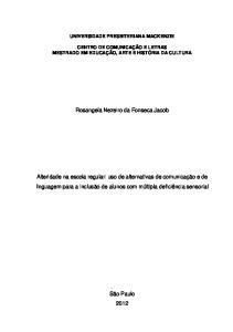 Rosangela Nezeiro da Fonseca Jacob