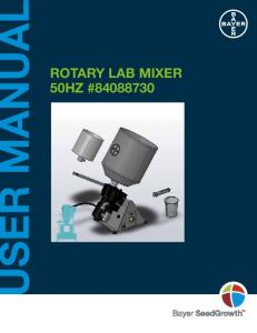 ROTARY LAB MIXER 50HZ #