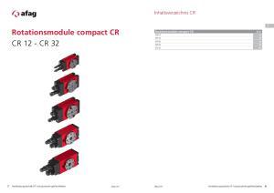 Rotationsmodule compact CR CR 12 - CR 32