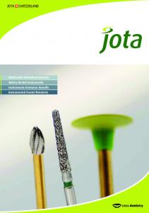 Rotierende Dentalinstrumente Rotary Dental Instruments Instruments Dentaires Rotatifs Instrumental Dental Rotatorio