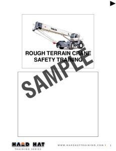 ROUGH TERRAIN CRANE SAFETY TRAINING
