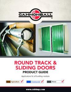 ROUND TRACK & SLIDING DOORS