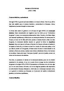 ROUSSEAU (CONTEXTOS) ( )