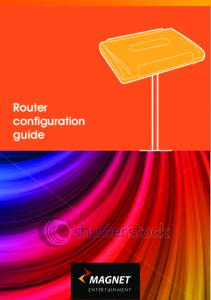 Router configuration guide
