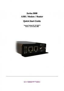 Router Quick Start Guide