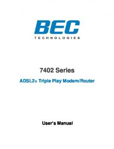 Router. User s Manual