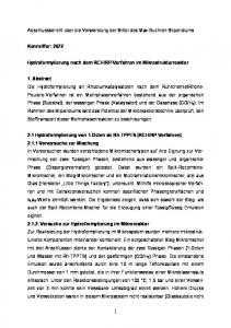 RP-Verfahren im Mikrostrukturreaktor