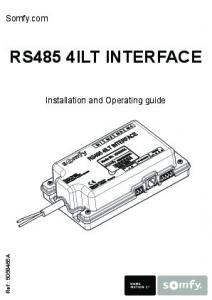 RS485 4ILT INTERFACE