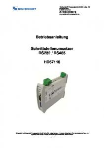 RS485 HD67118