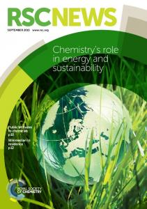 RSCNEWS. Chemistry s role in energy and sustainability. Public attitudes to chemicals p10 Wikimedian in residence p12. SEPTEMBER 2015