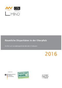 Räumliche Disparitäten in der Oberpfalz