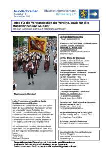 Rundschreiben Ausgabe 10 September 2012