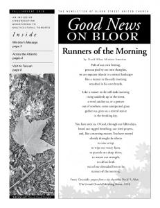 Runners of the Morning
