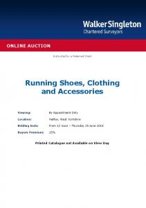 Running Shoes, Clothing and Accessories