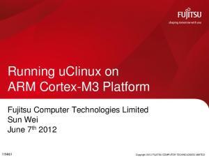Running uclinux on ARM Cortex-M3 Platform