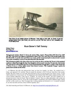 Russ Gerow s Taft Tommy