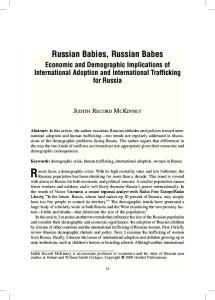 Russian Babies, Russian Babes