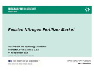 Russian Nitrogen Fertilizer Market