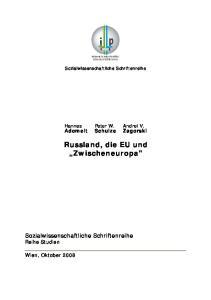 Russland, die EU und Zwischeneuropa