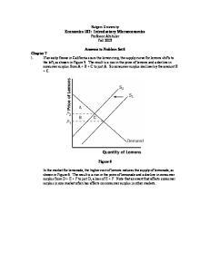 Rutgers University Economics 102: Introductory Microeconomics Professor Altshuler Fall 2003