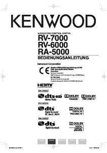 RV-7000 RV-6000 RA-5000