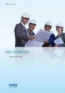 RWE Technology. Engineering the Future