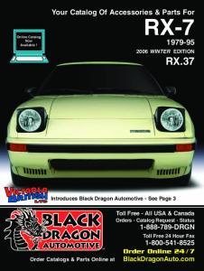 RX-7 RX Your Catalog Of Accessories & Parts For. BlackDragonAuto.com