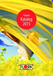 Rzepak. Katalog 2015