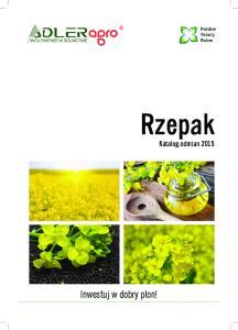 Rzepak Katalog odmian 2015
