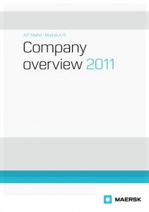 S Company overview2011