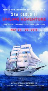 S EA C LOUD II Sailing ADVENTURE
