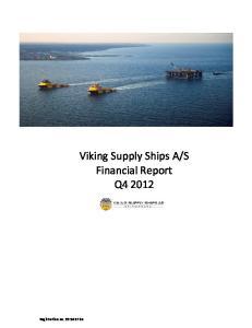 S Financial Report Q4 2012