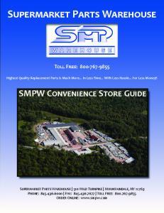 S P W SMPW C S G T F : S P W 510 W T M, NY P : F : T F : O O :