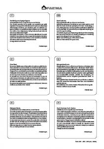 S President. Manuale - Manual - Manuel - Handbuch - Manual - Manual