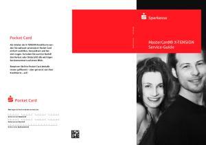 S Sparkasse. Pocket Card. S Pocket Card