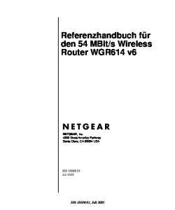 s Wireless Router WGR614 v6