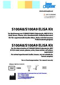 S100A9 ELISA Kit